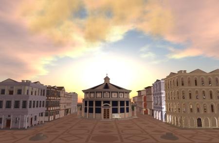 Città ideale virtuale