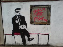 bansky smash the system